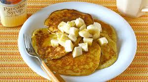 Pancake Flour 2 Ingredient Banana Pancakes Flour Less High Protein 材料2つで