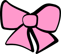 pink hair bow hair bow pink clip at clker vector clip online