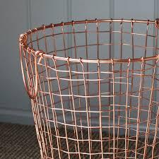 copper waste paper bin by marquis u0026 dawe notonthehighstreet com