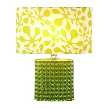 lime green l shade expressions lime green psychedelic ceramic table l 19