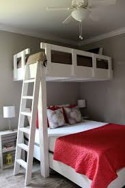 Free Twin Over Full Bunk Bed Plans by Bunk Beds Loft Bed With Desk Underneath Loft Bed With Desk And