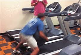 Treadmill Meme - funny gifs the stages of doing a long run on a treadmill shape