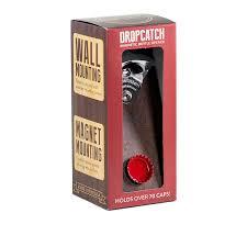 unique wall mounted bottle openers amazon com dropcatch magnetic bottle opener u0026 cap catcher porter