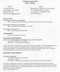 curriculum vitie gallery of 10 writing a curriculum vitae budget template letter