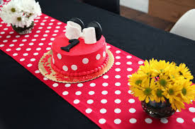 minnie mouse card table minnie mouse themed birthday party lil miss