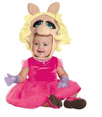 baby girls halloween costume the muppets miss piggy infant toddler costume the muppets