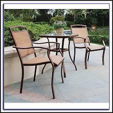 Bistro Patio Tables Three Piece Bistro Patio Set Patios Home Decorating Ideas