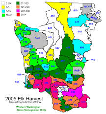 Elk Population Map Statisticalmaps