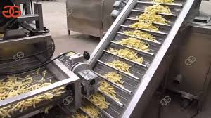 fully automatic french fries making production line potato chips