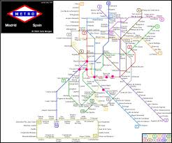 Barcelona Metro Map by Madrid Metro Map U2013 The College U0027s Guide To Study Abroad