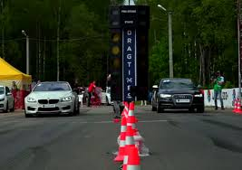 bmw vs audi race drag race bmw m6 vs mercedes c63 amg vs audi s6 dpccars