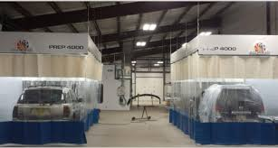 paint booths spray booths spray systems state shipping protect your warehouse from paint spray steel guard auto