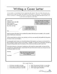 sample cover letters resume resume cover letter free cover letter