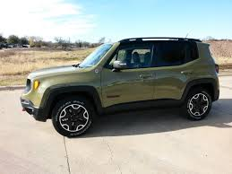 new jeep truck video all new commando green 2015 jeep renegade trailhawk 4x4
