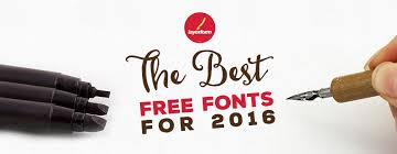 the best free fonts for 2016 layerform design co