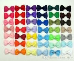 baby bow boutique 3 hair bows boutique baby grosgrain ribbon alligator clip