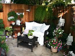 Sloping Backyard Landscaping Ideas Patio Ideas Ultimate Small Patio Decorating Ideas On A Budget