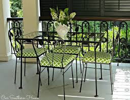 Outdoor Furniture Upholstery Fabric by Outdoor Fabric Updates Our Southern Home