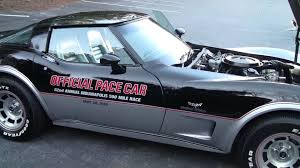 1978 corvette pace car l82 youtube