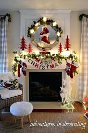 christmas decorations fireplace mantel mantels decorated pictures