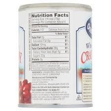 ocean spray whole berry cranberry sauce 14 oz walmart com