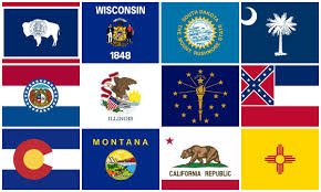 State Flag Of Georgia From First To Worst Ranking Every Us State U0027s Flag National