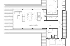 large single story house plans modern contemporary house plan with three bedrooms and large