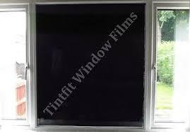 light blocking window film total blackout privacy glass window film block out 100 light black
