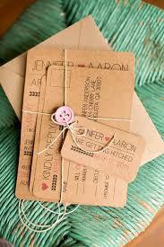Kraft Paper Wedding Invitations Rustic Modern Fun Printed Or Printable Wedding Invitation With