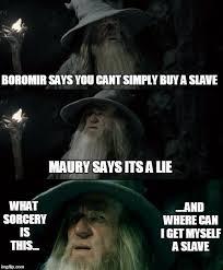 Meme Boromir - confused gandalf meme imgflip