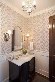 Wallpaper Ideas For Bathroom Powder Room Wallpaper Ideas Bathroom Farmhouse With Moroccan