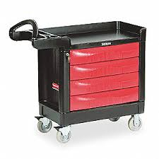 rubbermaid service cart with cabinet rubbermaid trade cart service bench black 500 lb 1fd41