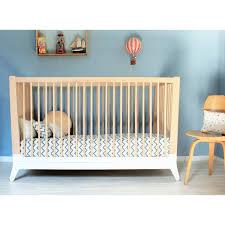 chambre bébé blanc lit bébé horizon blanc nobodinoz pour chambre enfant les enfants