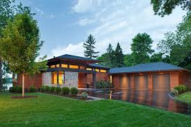 Hipped Roof House Modern Roof Overhang Exterior Contemporary With Marvin Double Hung
