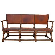 leather sofa atlanta sale 1920 u0027s german lodge leather sofa with original saddle