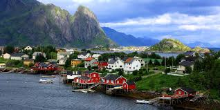norway quaint fishing village reine will make you want to run off to