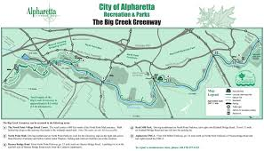 Map Of Riverside County Maps Of The Big Creek Greenway