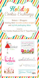 pen paper flowers inspire bloggers bakers holiday cookie