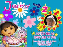 dora birthday invitations u2013 gangcraft net