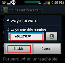 android call forwarding make your smart phone unreachable while using it
