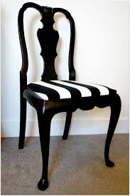 Black And White Striped Dining Chair Amazing 11 Best Dining Room Chairs Images On Pinterest For Black