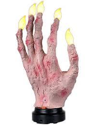 Zombie Decorations Zombie Hand Candelabra Decoration Halloween Zombie Decorations