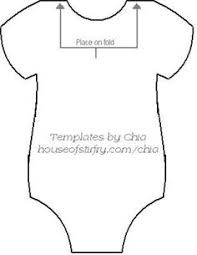 onesie card template going to make this for my cousins baby