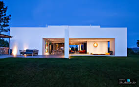 modern architectural design villa zia ibiza spain artistic sophistication and modern