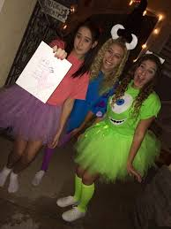 Monsters Inc Costumes The 25 Best Easy Disney Costumes Ideas On Pinterest Disney