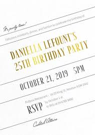 25th birthday invitations designs by creatives printed by