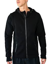 Sweater With Thumb Holes Amazon Com Woolx Grizzly Men U0027s Full Zip Hoodie Sweatshirt