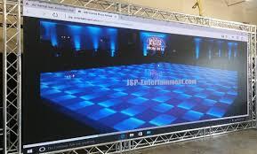 led floor rental san antonio audio visual rental and production service