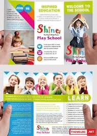 play school brochure templates school psd tri fold psd brochure template all design template