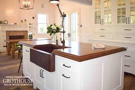 kitchen island tops stained cherry wood kitchen island top in east hton ny